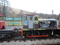 "Moving ""May"" (DerekTP) Tags: diesel may railway loco swanage fowler 040 4210132"