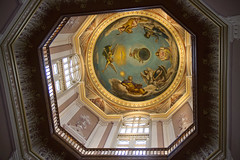 Ceiling inside Notre Dame Golden Dome