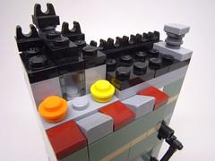 Green Grocer Mod 8x8 -mini Modular12-R11431 (otomos) Tags: lego modular legotown legocity microscale legomicroscale legomodular