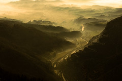 Ragnarok. (Crusade.) Tags: sunset sky mountain alps landscape smog twilight sigma slovenia ljubljana merrill foveon x3 dp2 velikaplanina dp2m