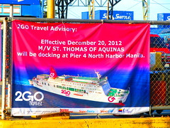 2GO Travel Banner Ads (Irvine Kinea) Tags: ocean voyage travel cruise sea ferry port asian one harbor pier muelle dock travels marine asia solitude sailing ship harbour maria district south philippines capital north transport cruising vessel off cargo corporation national area manila anchor sail roll filipino passenger pinay docked region dela industria ferries navigation pinoy bollard motorized roro visayas dagat cruises pilipinas nn luzon chino negros tankers mindanao docking voyages ats sailed ncr on barko navotas tondo 2go amtc