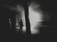 Trough The Night (Yves Roy) Tags: street shadow blackandwhite bw black contrast dark austria blackwhite interestingness interesting woods raw moody darkness noiretblanc fav50 28mm snap fav20 gloom fav30 yr enigmatic fav10 fav40 ricohgrd grdiii bureboke yvesroy yrphotography lastpictuein2012