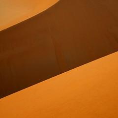 Namibian Desert Dune abstract (Sallyrango) Tags: africa orange abstract geometric nature sunrise shadows desert dunes namibia natureasabstract