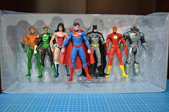 Justice League (Pedro Cuevas) Tags: woman green wonder justice dc icons action flash can superman we figure be batman heroes lantern cyborg universe powerful league collectibles aquaman the