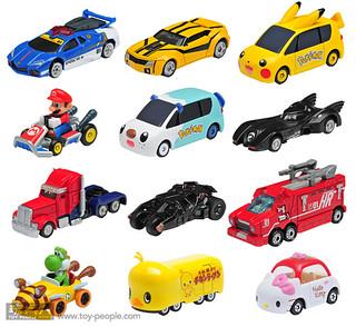 從「蝙蝠車」到「瑪利歐賽車」都推出!TOMICA 宣布將推出全新系列「Dream TOMICA」