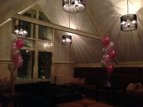 Tafeldecoratie 7ballonnen Grand Cafe V34 Spijkenisse