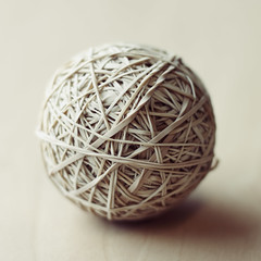 Peter's rubber band ball (Fear_Through_The_Eyes) Tags: