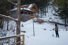 snow ny adirondacks lakegeorge nys adk dack putnamstation