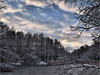 Zima nad stawem (sly.space) Tags: sky clouds landscape poland polska zima hdr śnieg wwh rydułtowy silesia śląsk staw e510 chmury niebo krajobraz pszów theworldthroughmyeyes radlin oberschlesien olympuse510 górnyśląsk landscapesdreams hdrterrorist salonpolski buńczowiec głożyny
