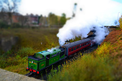 East Lanchashire Railway Steam Train - Tilt Shift (frankcerra) Tags: train bury shift railway steam lancashire east tilt