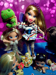 Bratz Next Top Model Cycle 10 theme 1: Talents - Candace (Carol Parvati ) Tags: doll ashley candace glowinthedark yasmin talking kidz bratz cloe wintervacation themovie hairflair bratzkidz lilangelz carolparvati