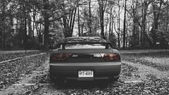 180sx Type X (WANDERERnation) Tags: sunset green fall cars leaves landscape nissan flat sony low silvia 240sx slammed stance sunflare nismo typex oem 180sx s13 nex7 uploaded:by=flickrmobile flickriosapp:filter=nofilter