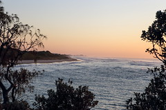 62+351: Sunrise, Red Rock, northern NSW, 31/07/16 (geemuses) Tags: sunrise scenic sea beach redrock nsw northernnsw newsouthwales australia light earlymorning earlymorninglight headland ocean island landscape