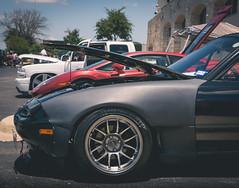 Track Miata Side Front (Saood Altaf) Tags: carshow cars skyline nissan mazda rx7 mustang beetle rs5 audi ford lamborghini gallardo rosso r33 s550 miata track functional aircooled porsche 911 toyota celica classics modela