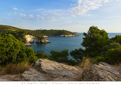05 luglio 2016 - Vieste - Costa del Gargano (Andrea di Florio (5,000,000 views)) Tags: andreadiflorio nikon d600 2470 28 panorama viste puglia foggia vacanza estate landscape mare sole spiaggia alba