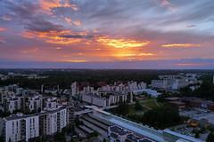 Vuosaari Sunset (timo_w2s) Tags: sunset vuosaari helsinki finland summer evening cirrus
