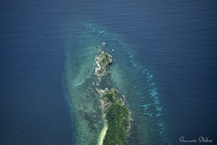 Philippine Island seen from above (Sumarie Slabber) Tags: island philippines water ocean sea nature sumarieslabber nikon coralreef seaplane tropical