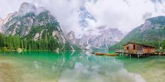 Lago Di Braies (aQ~imanggis) Tags: nikon allianzarena istanbul italy lagodibraies munchen sommer summer tripeurope tripuk turkey wildnesssee wildness pragsee