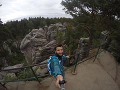 G0193353 (Tom Vymazal) Tags: goprohero4 gopro hero4 hory esk republika rozhledna vyhldka skly skaln msto prachovsk panoramata stezky jn hrad kost trosky cyklovlet pamtky