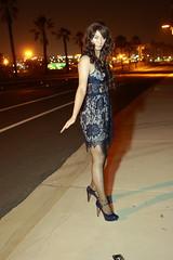 IMG_3078 (AsianDesert) Tags: crossdress crossdresser cd cross dresss transgender bluedress lacedress thigh high hi nylons lace blue dress pumps heels sexy