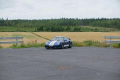 "997 turbo - 004 (Erkka Suominen) Tags: ""cobalt blau porsche"" blue ""bridge gantry"" nürburgring ""porsche 911 turbo"" ""911 ""997 ""pwr700"" ""evoms evt775"" ""evt775"" ""nürburgring bridge pccb"