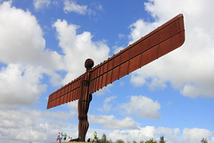 The Angel of the North (Jeff And) Tags: gateshead thenortheast a1 anthonygormley angel theangelofthenorth art publicart