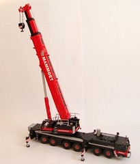 Liebherr LTM 1350-6.1 (3) ([Maks]) Tags: lego moc liebherr 122 scale ltm 135061 1350 crane mobile mammoet heavy transport model team