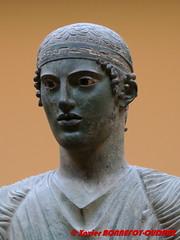 Delphi Archaeological Museum - Charioteer of Delphi (soyouz) Tags: delfi delphi grc grce delphes grec phocis sculpture statue delphiarchaeologicalmuseum charioteerofdelphi grcela