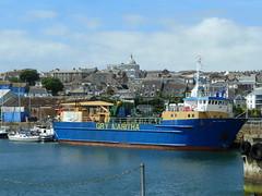Gry Maritha (Richard and Gill) Tags: cornwall penzance cornish kernow penwith grymaritha cargoship scilly islesofscilly harbour ship boat islesofscillysteamshipcompany issc supplyship vessel