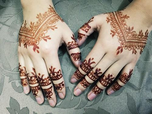 Eid mubarak ... Hena ❤️