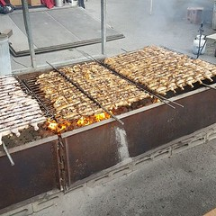 More chicken on the BBQ!!! #pne #bbq #chicken.