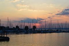 ships (sunsetsra) Tags: balaton hungary lake nature water balatonboglar balatonboglr sunset sundown sky twilight waterscape