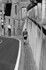 Anguillara 2016 (Vincenzo L.D.) Tags: uomo man discesa strada street camminata walk anguillara italia italy