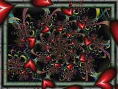 Underlined Sentiment (bloorose-thanks 4 all the faves!!) Tags: ultrafractal fractal render uf digital art abstract spiral hearts