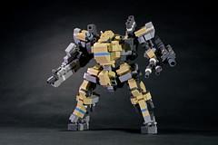 Type 101 SG Shunkei (legoricola) Tags: lego robot robotech scifi toy mech