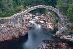 Are you made of stone? (OR_U) Tags: 2016 oru uk scotland cairngorms carrbridge bridge relict decay ruin heritage river rapids le longexposure water thestoneroses