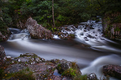 Into the current (ReevesWild) Tags: waterfall water longexposure bigstopper highlands highland glennevis scotland lowerfalls