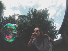 a mason jar lid makes a great bubble wand y'all (sarahk5446) Tags: gopro goprooftheday bubbles alabama summer fun outside southernliving south orangebeach color clouds portrait backyard homemade paradise sky nature blue crafty activity tree park florida garden gulfislandsnationalseashore landscape light flower photography vintage dances art love live island girl green