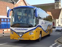 Johnsons of Henley in Arden YJ62 NLE Shanklin 29/9/16 (jmupton2000) Tags: yj62nle vdl daf bova johnsons henley in arden warwickshire coach isle wight
