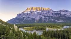 Hoodoos Trail in Banff National Park, Banff, Alberta (Purvesh Trivedi -www.purveshtrivediphotography.com) Tags: hoodoo banff bow river rundle mountain travel alberta nature bluesky sunrise sunset tree cloud water rock fall colors bluewater calgary canmore banffnationalpark tourism
