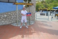 Ryan Janek Wolowski waving the Haitian flag at the Bienvenido A Labadee Labadie Haiti sign (RYANISLAND) Tags: haiti port labadee labadie republicofhait irpubliquedhati repiblikayiti ayiti hatihayti haitian haitiancreole creole portauprince hispaniola greaterantilles antilles sovereignstate caribbean caribbeanisland caribbeanislands island islands caribe beach royalcaribbean saintdomingue haitianhistory haitihistory visithaiti hati hayti republicofhaiti rpubliquedhati