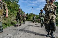 FJR5-19 (Andy Darby) Tags: bosworthfjr5 bosworth battlefield railway battlefieldrailway fjr5 fallschirmjager german reenactment uniform k98 mg42 ppsh41 marching war andydarby