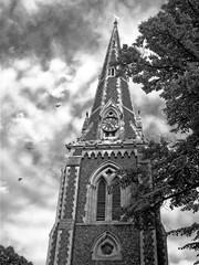 Christ Church Turnham Green (Dun.can) Tags: turnhamgreen church w4 christchurch london georgegilbertscott blackwhite monochrome 1843 victorian