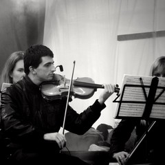 The Violinist (sergeylebedev141) Tags: violinist violin music musician orchestra concert classic blackandwhitephotography blackandwhite