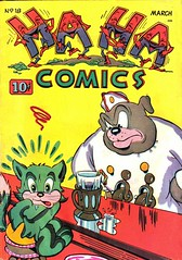 Ha Ha 18 (Michael Vance1) Tags: art artist adventure anthology comics comicbooks cartoonist funnyanimals fantasy funny humor goldenage