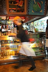 IMG_3519 (Stefan Skiera) Tags: rotterdam cafe bar restaurant waitress bottles speed movement business hurry