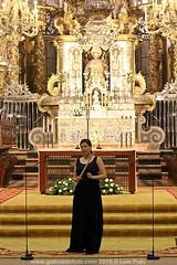 Irena Parada en la Catedral
