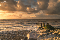 Solway Sunset (.Brian Kerr Photography.) Tags: silloth solway cumbria sunset criffel dumfriesandgalloway clouds sky posts briankerrphotography briankerrphoto sonyuk a7rii wexmondays