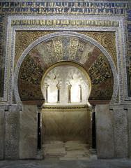 The Mihrab, The Mezquita, Crdoba, Spain (Hunky Punk) Tags: espaa art architecture andaluca spain muslim islam mezquita andalusia crdoba cordova mosques mihrab kaaba qibla