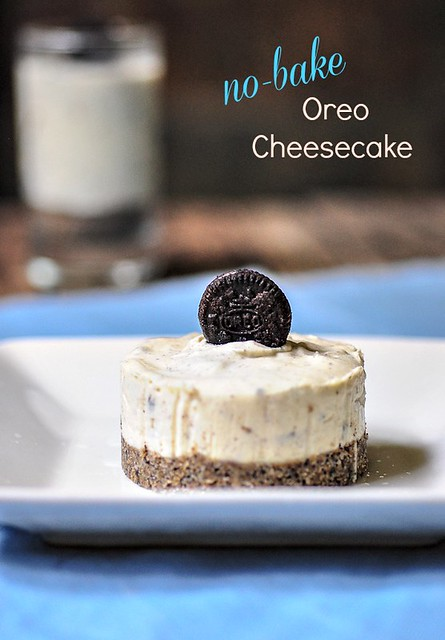 Eggless No-Bake Oreo Cheesecake Recipe | Eggless Cheesecakes